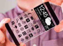 透明手机效果